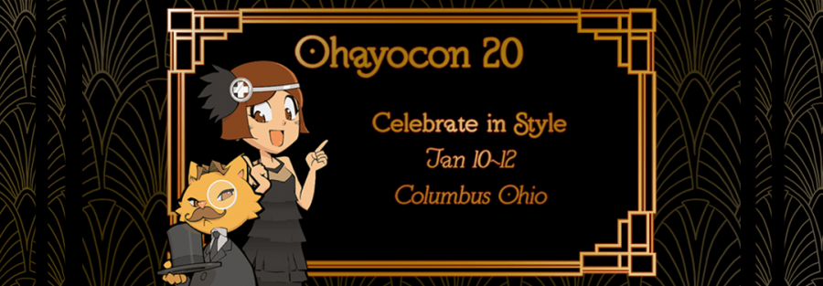 The theme photo from Ohayocon.org for the 2020 convention showing the