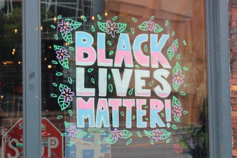 BLM Street Art and Signage in Columbus, OH
