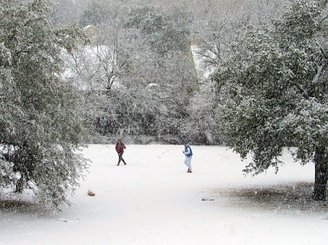 A winter storm that occurred in Austin, Texas in recent history.